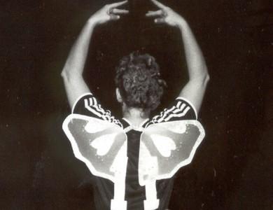 Foto elf met vleugels voor site